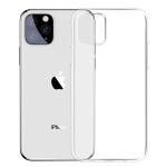 For iPhone 11 Pro Max Baseus Simple Series Transparent TPU Case(Transparent)