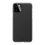 For iPhone 11 Pro Max Baseus Wing Ultra-Thin Frosted PP Case(Black)