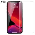 2 PCS Baseus 0.15mm Full Tempered Glass Film (Secondary Reinforcement ) for iPhone XIR 2019