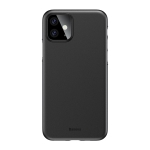 For iPhone 11 Baseus Wing Ultra-Thin Frosted PP Case(Black)