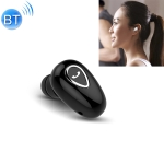 YX01 Sweatproof Bluetooth 4.1 Wireless Bluetooth Earphone, Support Memory Connection & HD Call (Black)