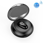YX01 Sweatproof Bluetooth 4.1 Wireless Bluetooth Earphone with Charging Box, Support Memory Connection & HD Call(Black)