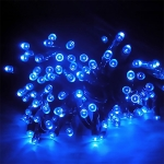 200 LEDs Outdoor Waterproof Christmas Festival Decoration Solar Lamp String, Length: 22m (Blue)
