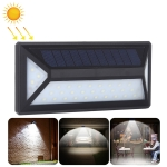 33 LEDs Microwave Induction IP65 Waterproof Solar Powered LED Wall Lamp