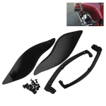 MB-OT360 2 PCS Adjustable Air Deflectors Side Wings Fairing Side Cover Shield for for 2014-2019 Harley Davidson Touring Electra / Street / Tri Glide / CVO
