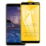 For Nokia 7.2 9D Full Glue Full Screen Tempered Glass Film