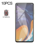 10 PCS Non-Full Matte Frosted Tempered Glass Film for Galaxy A60