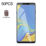 50 PCS Non-Full Matte Frosted Tempered Glass Film for Galaxy A9 (2018) / A9s, No Retail Package