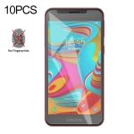 10 PCS Non-Full Matte Frosted Tempered Glass Film for Galaxy A2 Core