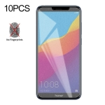 10 PCS Non-Full Matte Frosted Tempered Glass Film for Huawei Honor 7A