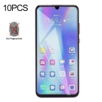 10 PCS Non-Full Matte Frosted Tempered Glass Film for Huawei Honor 10 Lite