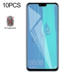 10 PCS Non-Full Matte Frosted Tempered Glass Film for Huawei Y9 (2019) / Enjoy 9 Plus