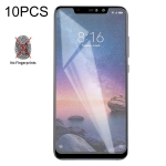 10 PCS Non-Full Matte Frosted Tempered Glass Film for Xiaomi Redmi Note 6 Pro