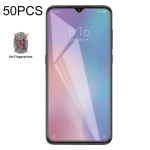 50 PCS Non-Full Matte Frosted Tempered Glass Film for Xiaomi Mi 9 SE, No Retail Package