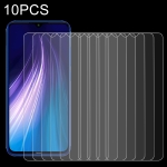 For Xiaomi Redmi Note 8 10 PCS 0.26mm 9H 2.5D Tempered Glass Film