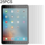 25 PCS For iPad 10.2 inch 9H 2.5D Tempered Glass Film