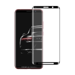 For Huawei Mate RS  0.3mm 9H Surface Hardness 3D Curved Edge Glue Curved Full Screen Tempered Glass Film(Black)
