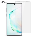 For Galaxy Note 10+ 2 PCS IMAK 0.15mm Curved Full Screen Protector Hydrogel Film Front Protector