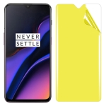 For OnePlus 6T Soft TPU Full Coverage Front Screen Protector