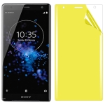 For Sony Xperia XZ2 Soft TPU Full Coverage Front Screen Protector