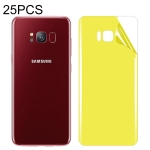 25 PCS For Galaxy S8 Soft TPU Full Coverage Back Screen Protector