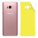 For Galaxy S8 Plus Soft TPU Full Coverage Back Screen Protector