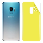 For Galaxy S9 Soft TPU Full Coverage Back Screen Protector