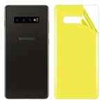 For Galaxy S10 Plus Soft TPU Full Coverage Back Screen Protector