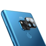 Titanium Alloy Metal Camera Lens Protector Tempered Glass Film for Huawei Mate 20X (Black)