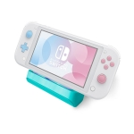 Portable Charging Charger Base Stand Station for Nintendo Switch Lite (Blue)