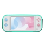 2 In 1 TPU Protective Case with Holder for Switch Lite (Blue)