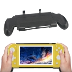 Non-slip Grip Handle Protective Case for Switch Lite (Black)