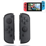 Left and Right Bluetooth Wireless Joypad Gamepad Game Controller for Switch (Black)