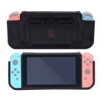 Non-slip Silicone Protective Case with Card Slot for Switch Lite (Black)