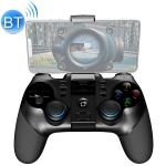 ipega PG-9156 2.4GHz + Bluetooth 4.0 Mobile Phone Gaming Gamepad with Stretchable Mobile Phone Holder & Turbo Button, Compatible with IOS and Android Systems (Black)