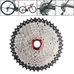 BOLANY CSM940BS 9-speed 40T Steel Card Type Mountain Bike Flywheel Bicycle Chain Tower Wheel