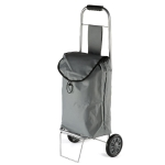 Portable Foldable Iron Cloth Bag Luggage Truck Hand Cart Shopping Small Trolley Case
