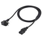 Israel Plug to Three Holes Desktop PC Power Cord, Cable Length: 1.7m