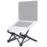 Nexstand K2 Laptop Height Extender Holder Stand Folding Portable Computer Heat Dissipation Bracket, Size: 35.4x4x4cm (Black)