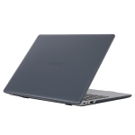 For Huawei MateBook 14 inch Shockproof Crystal Laptop Protective Case(Black)