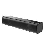 HXSJ Q2 Mini Household Notebook Desktop PC Wired Heavy Subwoofer Speaker(Black)