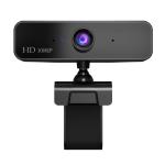 HXSJ S2 1080P Adjustable 360 Degree HD Manual Focus PC Camera with Microphone(Black)