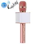 SDRD SD-08 Double Speakers High Sound Quality Handheld KTV Karaoke Recording Bluetooth Wireless Condenser Microphone(Rose Gold)