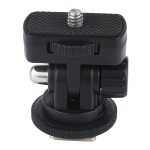PULUZ 1/4 inch Screw Thread Cold Shoe Tripod Mount Adapter