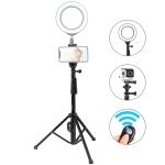 PULUZ  Bluetooth Shutter Remote Selfie Stick Tripod Mount Holder for Vlogging Live Broadcast