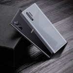 For Galaxy Note10+ Baseus Wing Ultra-Thin Frosted PP Case(Clear White)