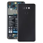 Battery Back Cover with Camera Lens & Fingerprint Sensor for LG G6 / H870 / H870DS / H872 / LS993 / VS998 / US997(Black)