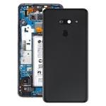 Battery Back Cover with Camera Lens & Fingerprint Sensor for LG G8 ThinQ / G820 / G820N / G820QM7(Black)