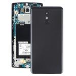 Battery Back Cover with Camera Lens & Fingerprint Sensor for LG Stylo 4 / Q710 / Q710MS / Q710CS / L713DL(Black)