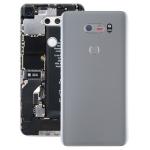Battery Back Cover with Camera Lens & Fingerprint Sensor for LG V30 / VS996 / LS998U / H933 / LS998U / H930(Silver)